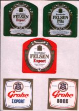 Old beer bottle Beer labels Germany 2 pages  #033